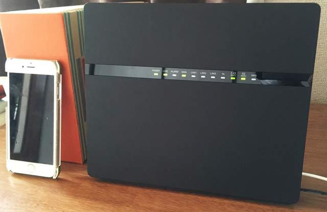 EchoLife (HG8045D / HG8045Q) 大きさ