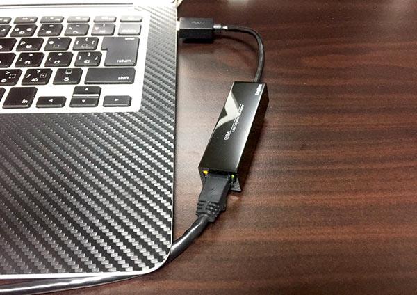 ロジテック 有線LANアダプタ ギガビット対応 USB 3.0 LAN-GTJU3