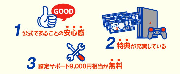 【NURO光】NURO光を公式サイトから申し込むメリッ