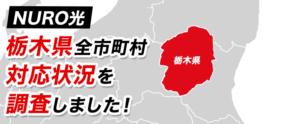 【NURO光】栃木県全市町村の対応状況を調査しました!