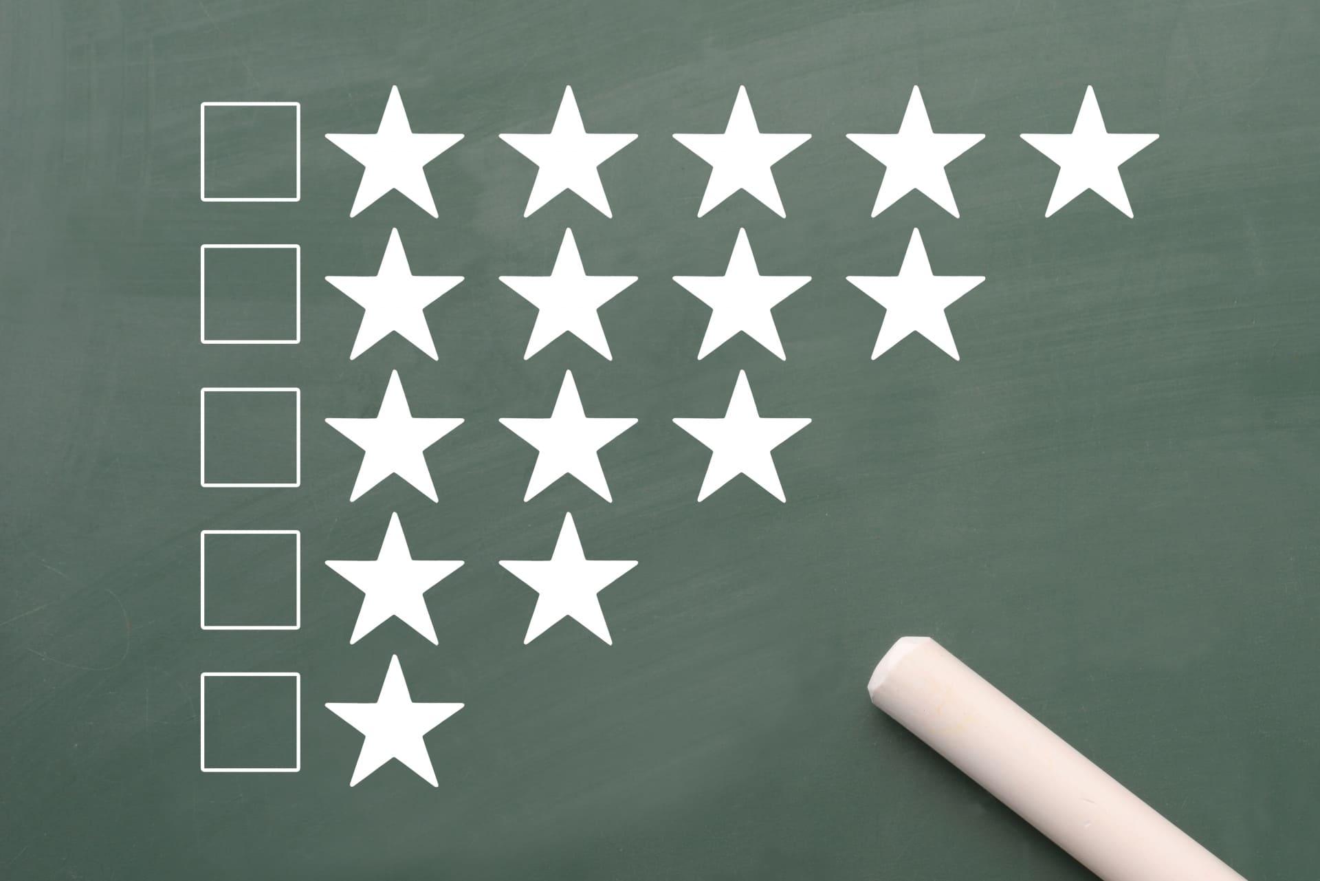 比較,評価,評判のイメージ