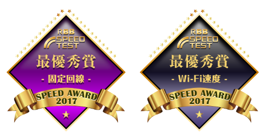 RBB SPEED AWARD 2017