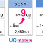 UQモバイルキャンペーン!今なら増量オプションが2年間・最大25ヶ月無料に!