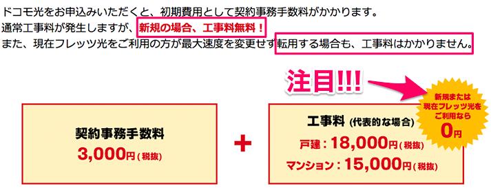 【ドコモ光】GMOとくとくBBキャンペーンページ