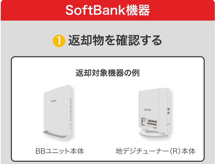 ソフトバンク機器