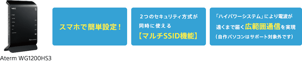 ドコモ光×So-net v6プラスレンタルルーター