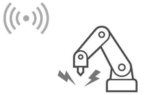 ロボットアームを遠隔操作する
