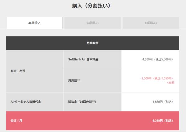 【出典】SoftBank Air