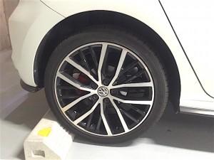 Polo GTI リアタイヤ
