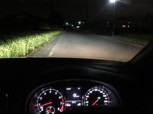 夜間の視認性