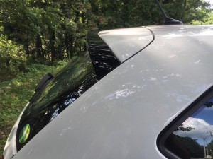 Polo GTI リアルーフスポイラー